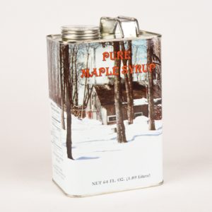 liter of maple syrup in can