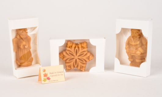 boxed maple candy