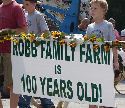 100 years of Robb Family Farmm