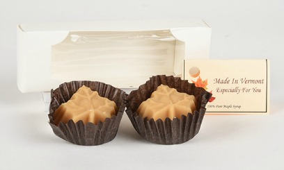 2 maple candies in a box