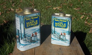 Vermont Maple Syrup in a Can