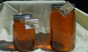 Vermont Maple Syrup in Mason Jars