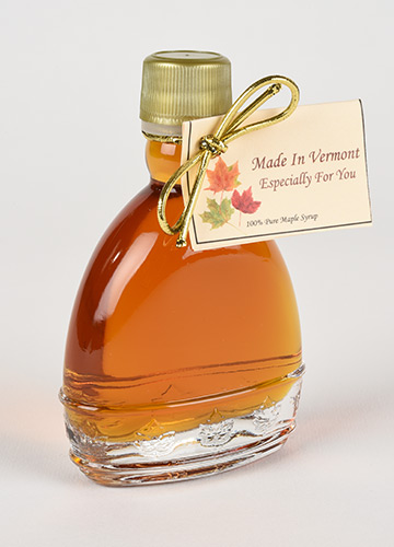 vermont maple syrup in umbrella shaped nip